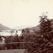 View from Glencoe House 1905