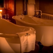 Suite 3 Baths at Night