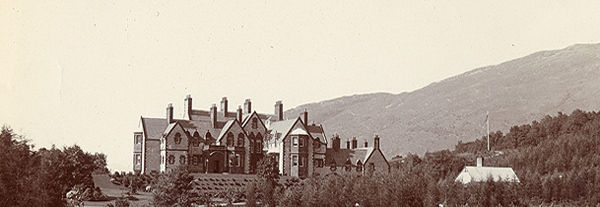 Glencoe House in 1905. Courtesy of the Osler Library at McGill University